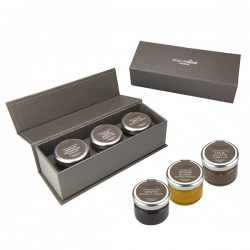 Coffret de 3 confitures 30g Alain Milliat