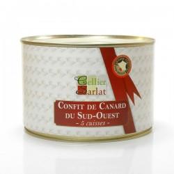 Confit de Canard (5 cuisses) 1600g