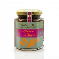 Chutney aux Figues 220g