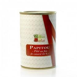 Papitou Pâté à 30% de Foie Gras de Canard 400g