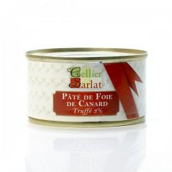 Pâté de Foie gras de Canard à la truffe noire du Périgord 130g