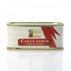 Caille Fourrée au Foie Gras de Canard Entier 200g
