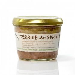 Terrine de Bison du Périgord 180g