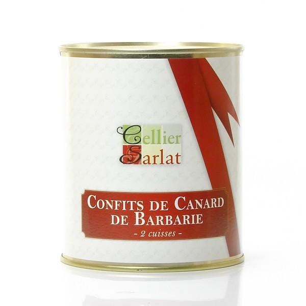 Confit de canard de barbarie 2 cuisses - Cuisiner cuisses de canard ...