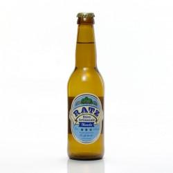 Bière blanche artisanale du Quercy Brasserie Ratz, 33cl