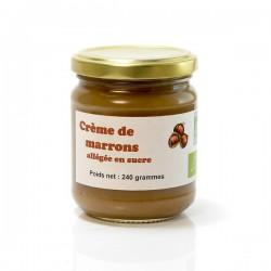 Creme de marrons agriculture biologique 240g