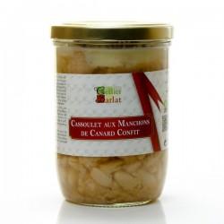 Cassoulet aux manchons de canard confit bocal 780g