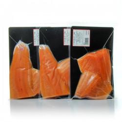 Lot de 3 paquets de 2 Paves de truite sous vide env 280g