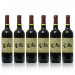 Promotion de 6 bouteilles de Domaine Lafon AOC Cahors 2014, 75cl