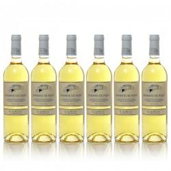 Promotion 6 bouteilles du Domaine Pajot Cuvée Noisette IGP Gascogne Moelleux 2015 75cl