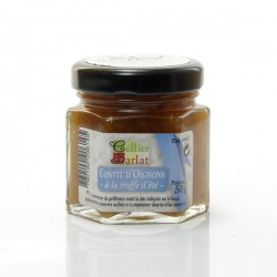 Confit d'Oignons au jus de truffes 50g