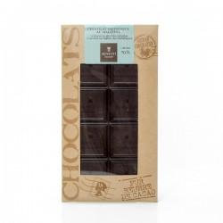 Tablette de chocolat à 65% de cacao diététique au maltitol special diabètique, 100g