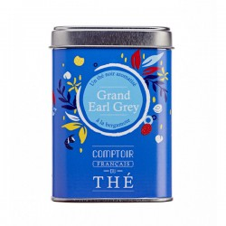 The GRAND EARL GREY en boite 100g