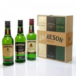 Whisky irlandais Jameson Coffret Trilogie 40° 3x20cl
