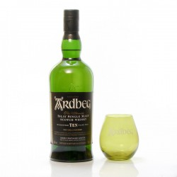Whisky Ardberg 10ans 46° 70cl Coffret + Verre