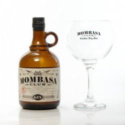 Gin Mombasa Club 41.5° 70cl Coffret + verre