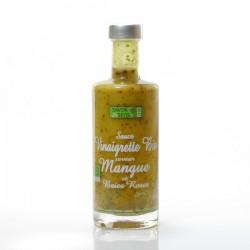 Vinaigrette bio saveur mangue et baies roses, 25cl