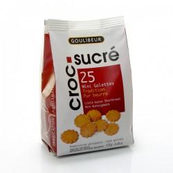 Croc sucré biscuits artisanaux sachet 125g