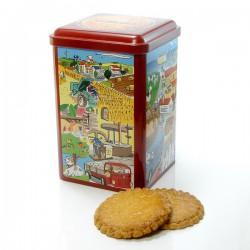 Boîte collection sablé artisanaux boite fer 360g
