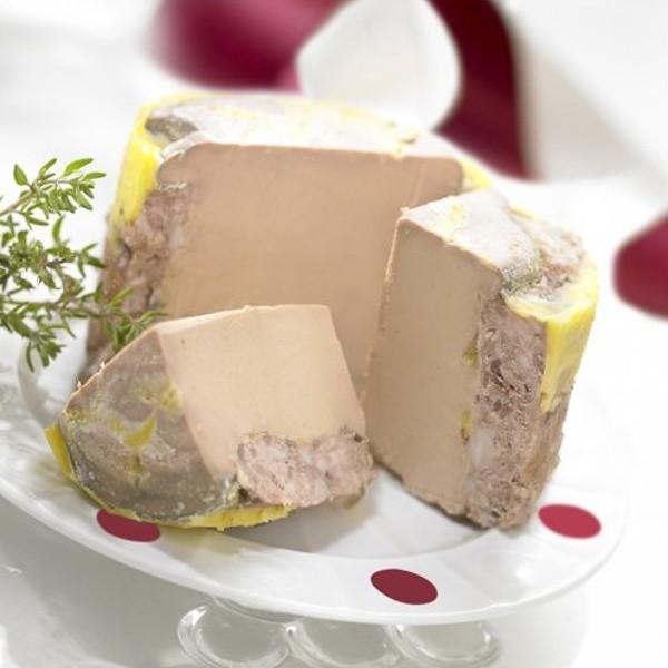 lot de 2 bocaux de p 226 t 233 de foie gras de canard 190g