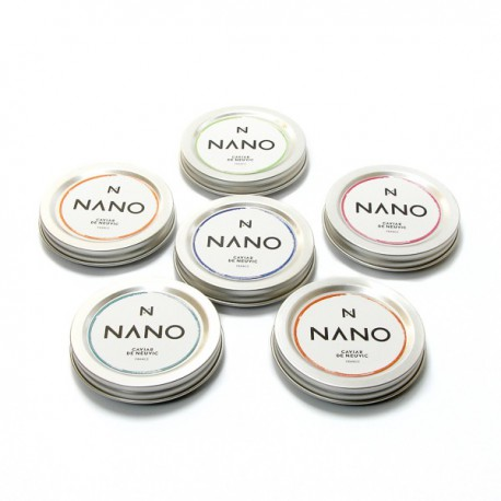 Lot de 6 Caviars de Neuvic -NANO- 6x10g