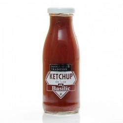 Ketchup de luxe au basilic 280g