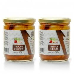 Lot de 2 tripoux cuisinés Nouvelle recette 2x390g