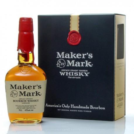 whisky us maker 39 s mark bourbon 45 coffret verre foie gras sarlat. Black Bedroom Furniture Sets. Home Design Ideas