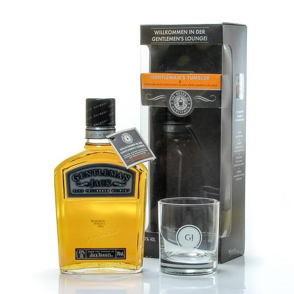 whisky us jack daniels gentleman jack 40 coffret verre foie gras sarlat. Black Bedroom Furniture Sets. Home Design Ideas