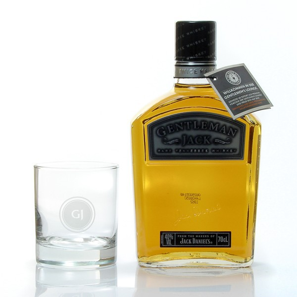 whisky us jack daniels gentleman jack 40 coffret verre foie gras sarlat. Black Bedroom Furniture Sets. Home Design Ideas