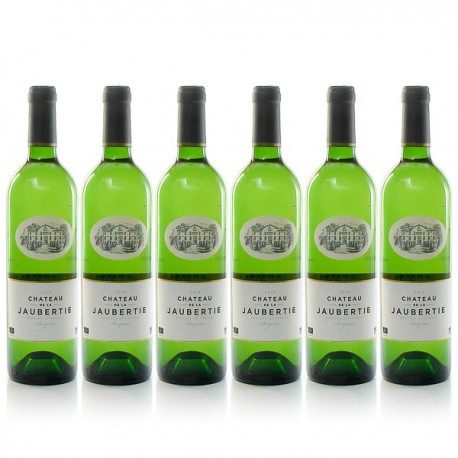 Lot de 6 bouteilles Château La Jaubertie AOC Bergerac Sec 2015