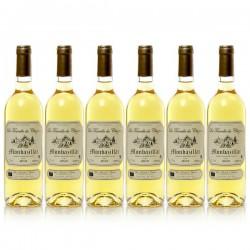 Lot de 6 bouteilles Château Cluzeau La Tourelle de Cluzeau AOC Monbazillac 2016 75cl