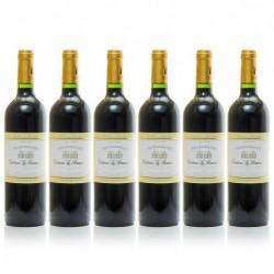 Lot de 6 bouteilles Château le Renaudie AOC Pécharmant 2013 75cl
