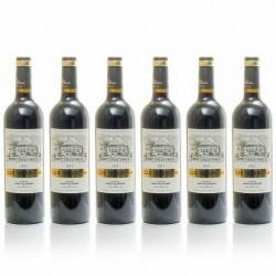 Lot de 6 bouteilles Clos Triguedina AC Cahors 2012 75cl
