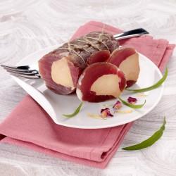 Canochon filet mignon de porc séché fourré au foie gras 160g