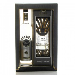 BELUGA Vodka Noble Coffret et 1 verre 40° 70 cl