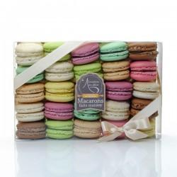 Coffret 25 macarons frais artisanaux Lucy Borie 500g