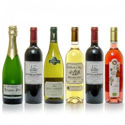 Lot de 6 vins Spécial Repas de fêtes 6x75cl soit 450cl