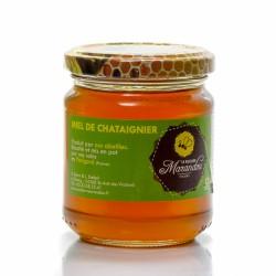Miel de Châtaignier du Rucher de Marandou, 250g