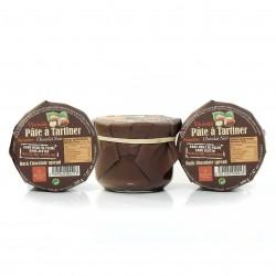 Lot de 3 pâtes à tartiner chocolat noir noisettes 3x200G