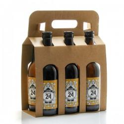 Pack de 6 bières Brassée 24 L'Adorée Brasserie Artisanale de Sarlat 6x33cl
