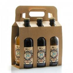 Pack de 6 bières Brassée 24 Blanches Brasserie Artisanale de Sarlat 6x33cl
