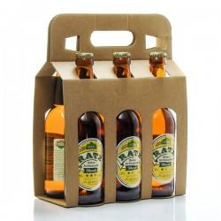 Pack de 6 bières blondes artisanales du Quercy Brasserie Ratz 6 x 33cl soit 198cl