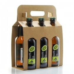 Pack de 6 bières blondes Kiclac artisanales Brasserie La Gaillarde 33cl x 6 soit 198cl
