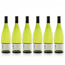 6 bouteilles de Domaine UBY Colombard-Ugni Blanc n°3 2017