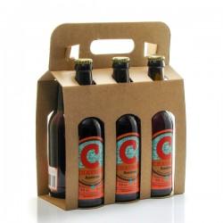 Pack de 6 bières ambrées artisanales Brasserie La Chavagn' 33cl x 6 soit 198cl
