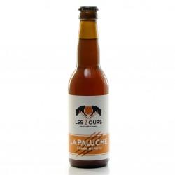 Bière Ambrée artisanale du Périgord Brasserie les 2 ours 33cl