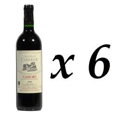 6 Bouteilles Château Carrigou AOC Cahors Rouge 2010, 6x75cl