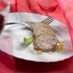 Cou Farci de canard au foie gras frais