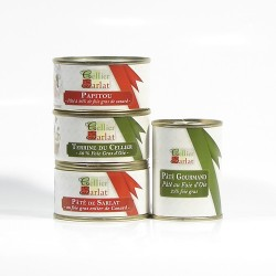 Lot de spécialités au Foie gras en promotion